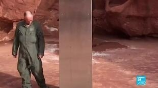 2020-11-25 08:15 The Utah monolith mystery: Theories abound over metal rectangle found among rocks