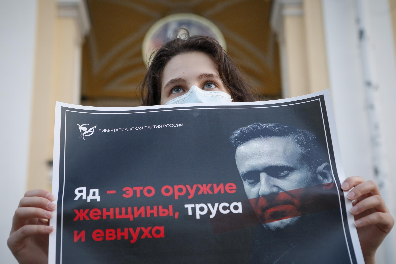 El opositor ruso Alexei Navalni fue hospitalizado de urgencia en Alemania el 24 de agosto de 2020, después de haber sufrido un envenenamiento en Rusia.