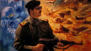 Le livre de Saddam Hussein raconte l'histoire d'une tribu millénaire de l'Euphrate qui fait face à un envahisseur.