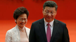 Carrie Lam a été installé à la tête de l'exécutif hongkongais en 2017 avec l'aval du président chinois Xi Jinping