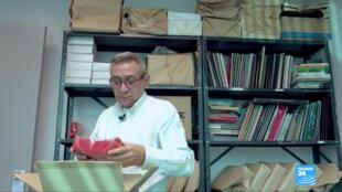 Alberto Nieves, director de la Asociación Solidaria contra el SIDA. La organización denuncia falta de transparencia en las cifras de muertos oficiales a causa de VIH.