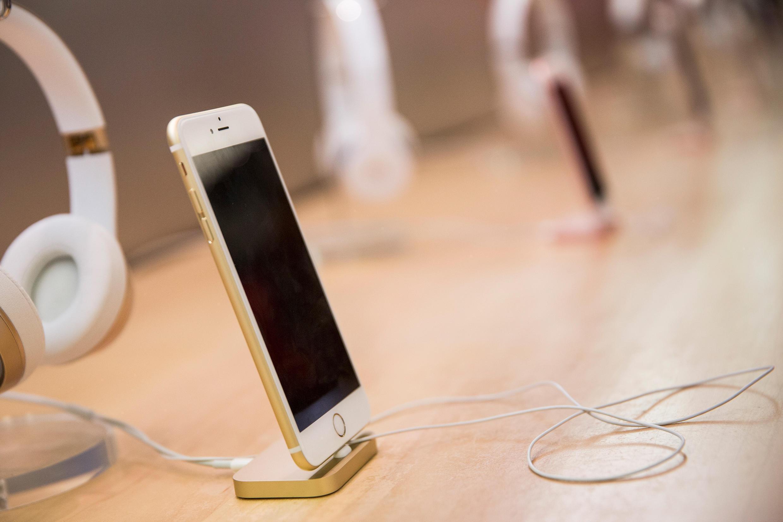 Les ventes d'iPhone ont été moins importantes que prévu fin 2015.