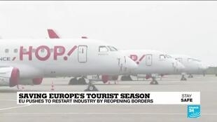 2020-05-14 10:05 EU pushes to resuscitate tourism by reopening borders before season start