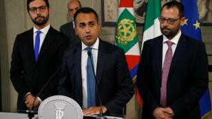 Luigi Di Maio afirmó ante los medios que rechazó la propuesta de Salvini y lo responsabilizó de la crisis política en Italia.