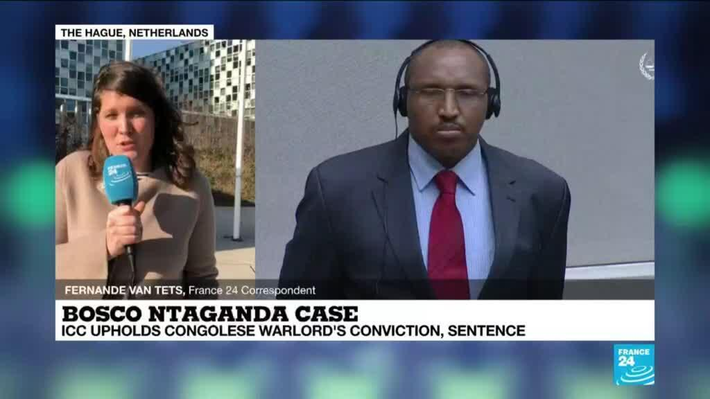 2021-03-30 17:09 ICC upholds conviction of Congolese warlord Ntaganda