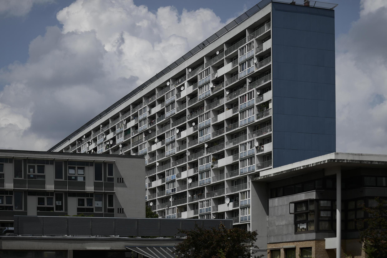 The Cité des 4000 housing estate in La Courneuve, north of Paris.