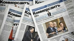 The whole political desk at Russian daily Kommersant quit Monday in protest after two veteran journalists were fired