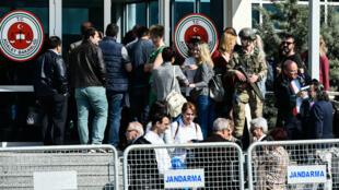 Le tribunal d'Istanbul où ont été jugés plusieurs collaborateurs du quotidien d'opposition turc Cumhuriyet.