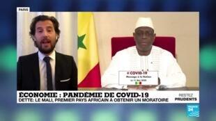 2020-05-20 09:11 Le Mali, premier pays africain à obtenir un moratoire sur sa dette