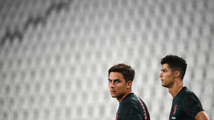 Paulo Dybala (L) and Cristiano Ronaldo (R) have been reported to prosecutors for breaking isolation.