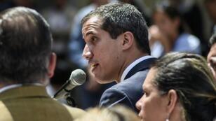 Juan Guaido à Caracas, le 4 février 2019.
