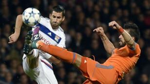 L'Olympique lyonnais s'est incliné face au FC Valence (0-1), à Gerland, mardi 29 septembre.
