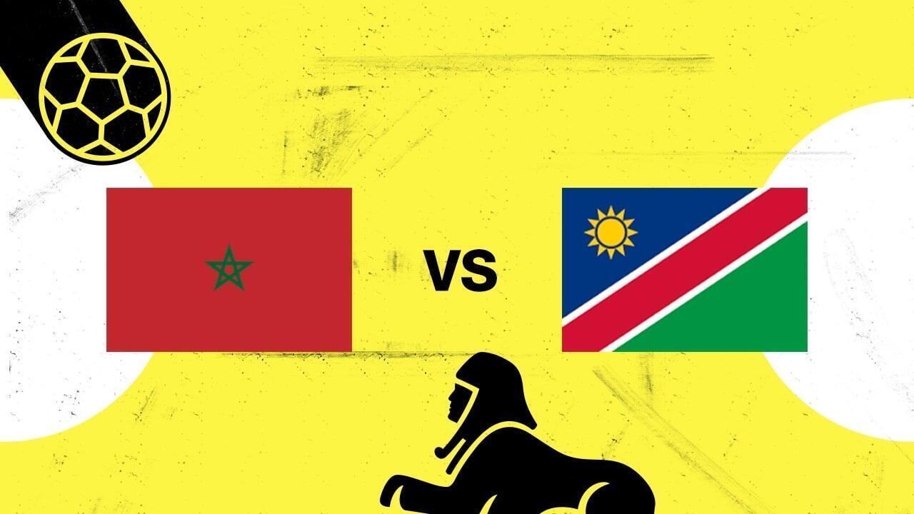 مواجهة تبدو في متناول المغرب أمام ناميبيا.