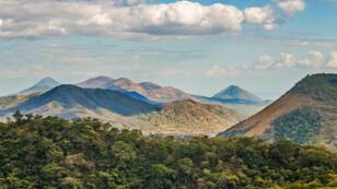 Chaîne de volcans du Nicaragua