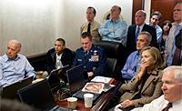 """صور عن العملية العسكرية الأمريكية ضد زعيم """"القاعدة"""""""