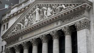 Le New York Stock Exchange à New York, le 11 mai 2020