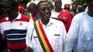 زعيم المعارضة المالية سومايلا سيسي في 18 آب/أغسطس 2018