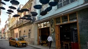 A taxi arrives at a private restaurant in Havana, Cuba, where entrepreneurs will soon be subjected to tougher restrictions