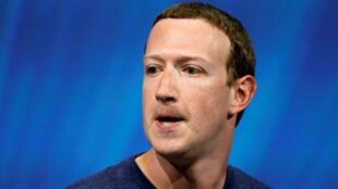 """مارك زوكربرغ مؤسس موقع """"فيس بوك"""""""