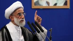 L'ayatollah ultraconservateur, Ahmad Jannati, a été élu à la direction de l'Assemblée des experts en Iran, le 24 mai 2016.