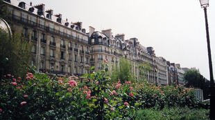 Une rue du XVIe arrondissement de Paris