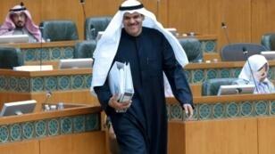 وزير الاعلام والشباب الكويتي الشيخ سلمان الحمود الصباح