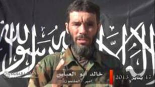Mokhtar Belmokhtar apparaît sur des images publiées le 20 janvier 2013.