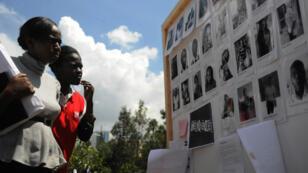 Hommage rendu aux victimes de l'attaque de Garissa à Nairobi, le 8 avril 2015.