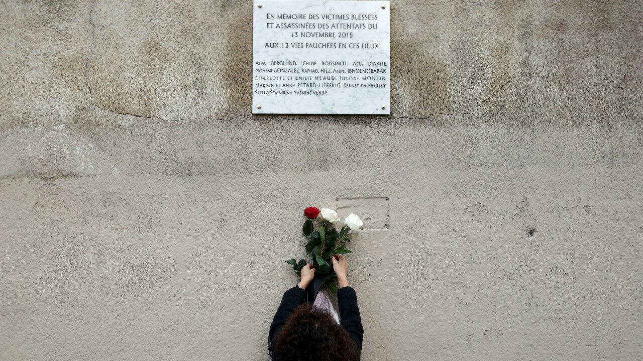 3rd anniversary of the Paris attacks of November 13 2015