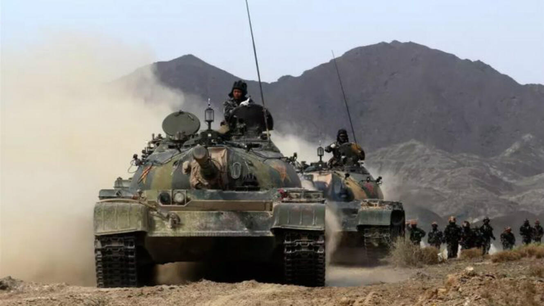 Le ZTZ-59 était le principal char de combat chinois entre 1958 et 1989. Il était basé sur le T-54 soviétique.