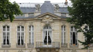 Vue intérieure de l'Hôtel de Matignon.