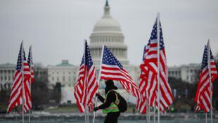 USA coronavirus memorial
