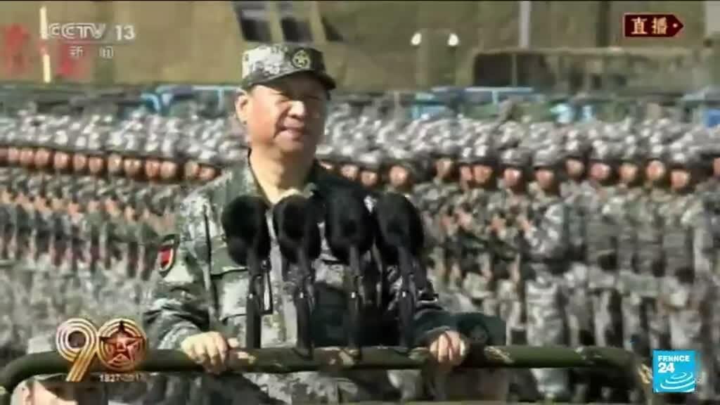 2021-07-01 12:01 Doves and fighter jets: China's Communists mark their centenary