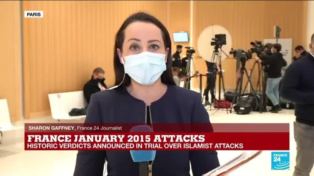 2020-12-16 17:01 Associate of 2015 Charlie Hebdo attack gang found guilty of terrorism