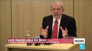 "2019-10-11 12:49 #EXCLUSIVE - Lula da Silva on FRANCE24: ""I don't want a lighter sentence. I want my innocence"""