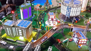 "Vidéo ""Tejas Dubhir @ smart city model"""