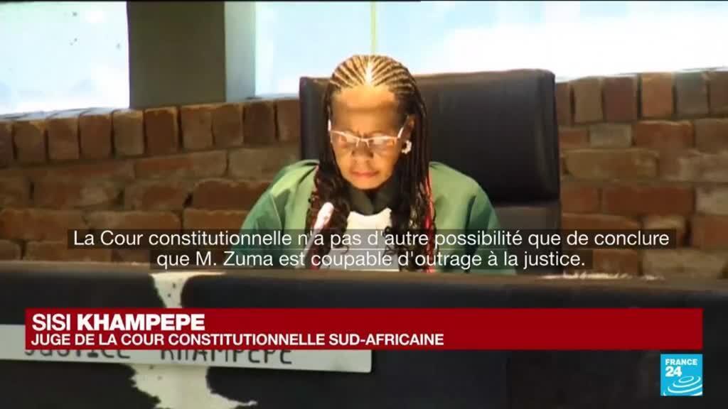 2021-06-29 12:01 Afrique du Sud : Jacob Zuma condamné à 15 mois de prison pour outrage à la justice