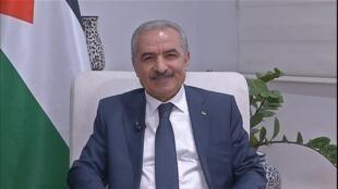 Le Premier ministre palestinien Mohammad Shtayyeh lors cet entretien exclusif accordé à France 24.
