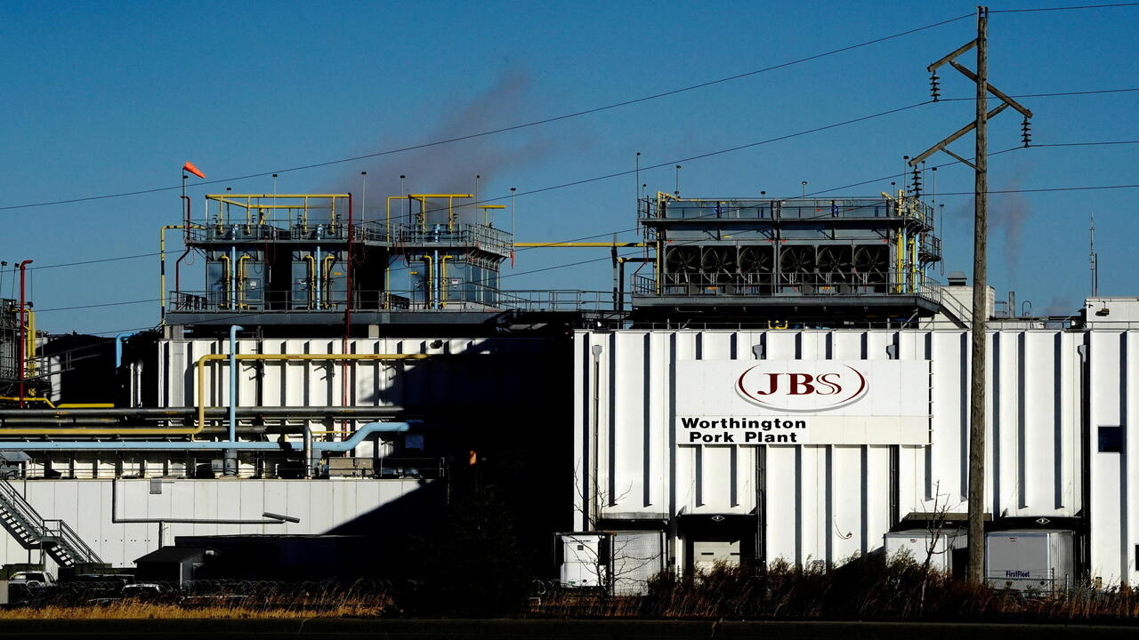 US says cyber attack on world's largest meatpacker likely from Russia