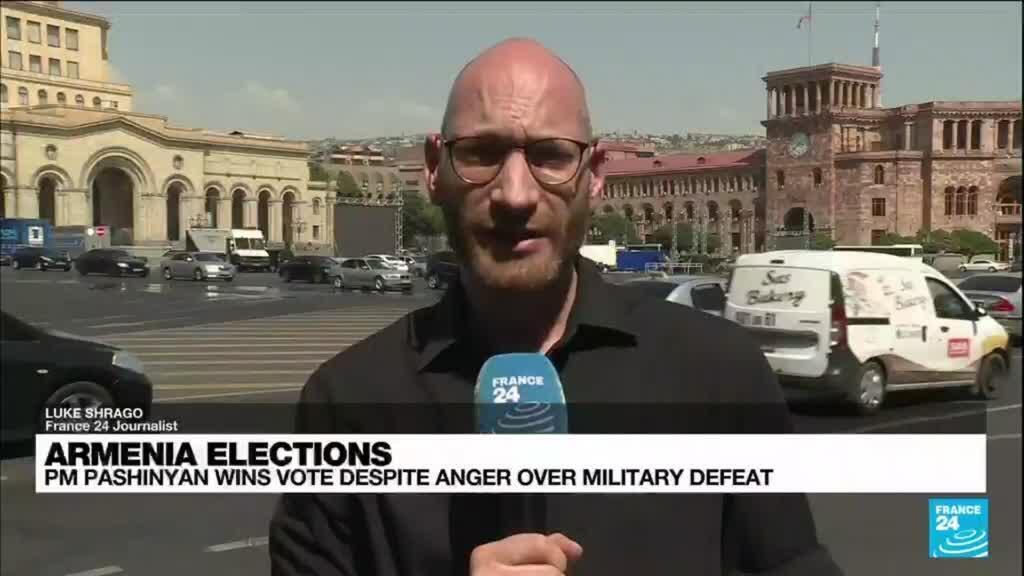 2021-06-21 17:05 Armenia PM Pashinyan wins majority in polls despite anger over military defeat