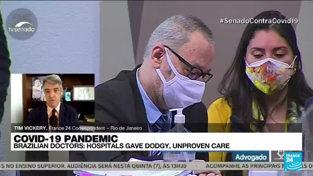 2021-10-13 15:00 Brazil doctors accuse company of forcing unapproved drugs to treat Covid-19