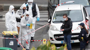 Two people were injured in a knife attack outside satirical newspaper Charlie Hebdo's former offices in Paris on September 25, 2020