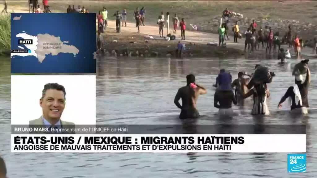 2021-09-23 14:02 Migrants haïtiens renvoyés en Haïti : angoisse de mauvais traitements et d'expulsion