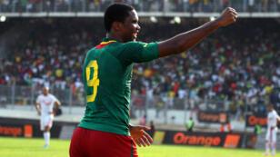 Le capitaine du Cameroun Samuel Eto'o