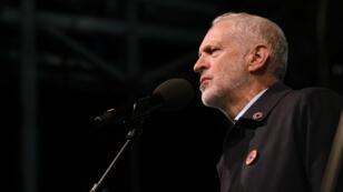 Le leader du Parti travailliste, Jeremy Corbyn, le 22 septembre 2018, à Liverpool.