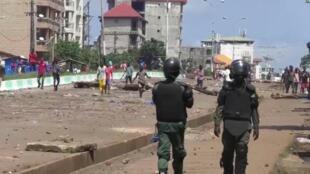 Tensions dans les rues de Conakry