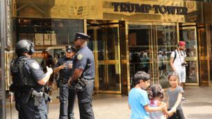 La Trump Tower à New York, le 16 août 2017. Le groupe Trump voulait construire une autre tour à Moscou, selon des médias américains.