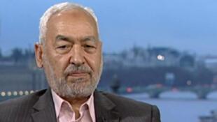 Le chef d'Ennahda, Rached Ghannouchi.