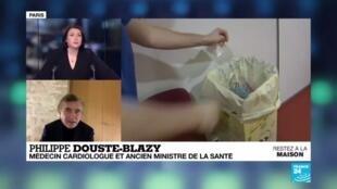 """2020-03-30 22:03 L'ancien ministre de la santé Douste-Blazy : """"il faut sans attendre autoriser la chloroquine """""""