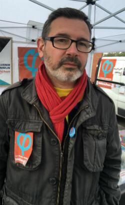 Arnaud, 45 ans, militant de La France insoumise